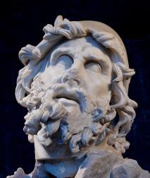 Particolare della testa di Ulisse